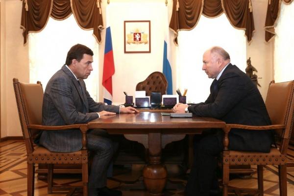 «Выборы были конкурентными». Куйвашев и Чайников обсудили прошедшее воскресенье