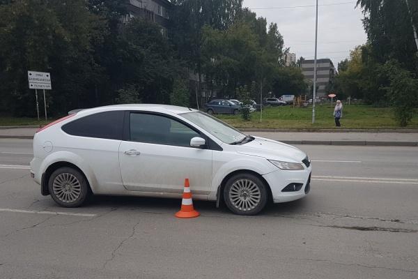 На Сортировке Ford сбил ребенка, перебегавшего дорогу рядом с переходом