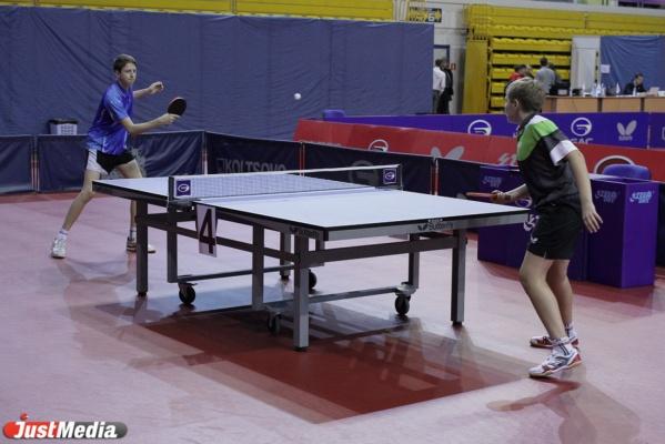 Два уральца выступят на чемпионате Европы по настольному теннису