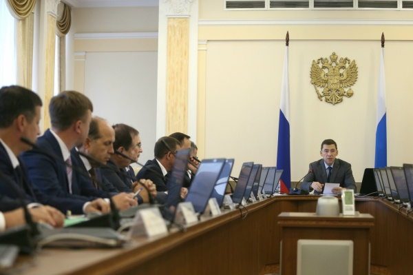 Губернатор отправил вотставку руководство Свердловской области