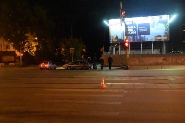 ВЕкатеринбурге разыскивают водителя, наехавшего наподростка-велосипедиста