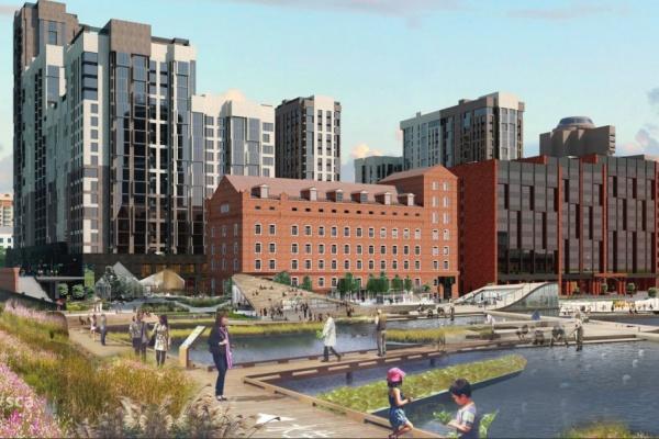 Архитекторы из разных стран мира спроектировали общественные зоны для крупных проектов Екатеринбурга. ФОТО