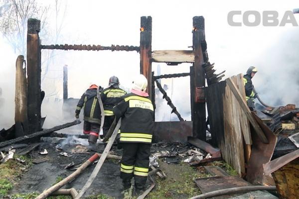 ВГорном Щите напепелище сгоревшего дома обнаружили труп
