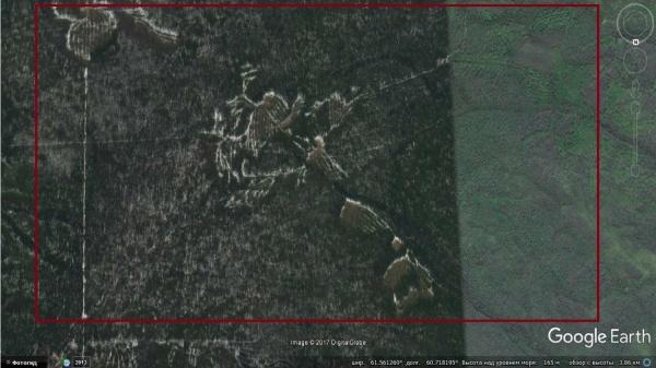 Геоглифы или участки лесничеств - артефакт около перевала Дятлова вызвал споры