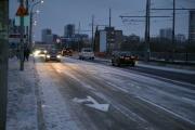 По Макаровскому мосту снова начали ездить трамваи и авто. ФОТО