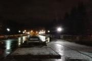В Екатеринбурге в центральном парке начали заливать каток