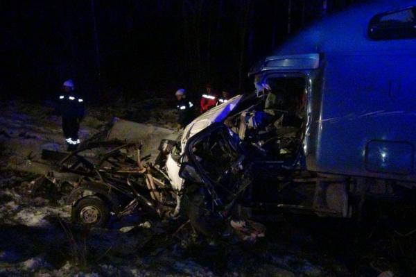 На Московском тракте в столкновении двух грузовиков погибли три человека
