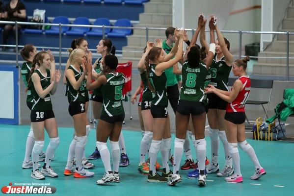 «Уралочка-НТМК» прервала серию из поражений победой над краснодарским «Динамо»