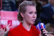 Ксения Собчак привла в пример ситуацию с делом Алексея Навального