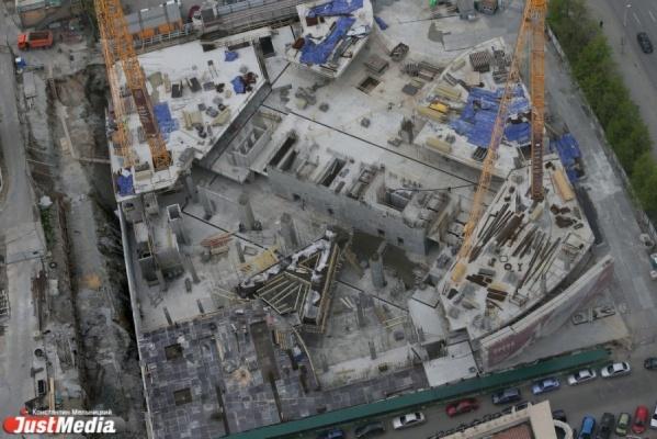 «Атомстройкомплекс» собирается восстановить строительство своего флагманского проекта Opera Tower вцентре Екатеринбурга