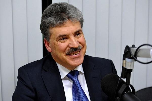 ВЕкатеринбург приедет кандидат впрезиденты отКПРФ Павел Грудинин