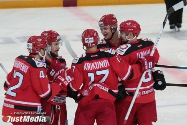 «Автомобилист» вышел в плей-офф Континентальной хоккейной лиги