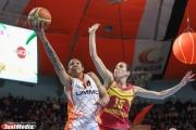 Баскетболистки УГМК уверенно переиграли соперниц из Италии