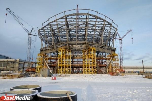 Конгресс-холл «Екатеринбург-Экспо» достроят киюлю 2019
