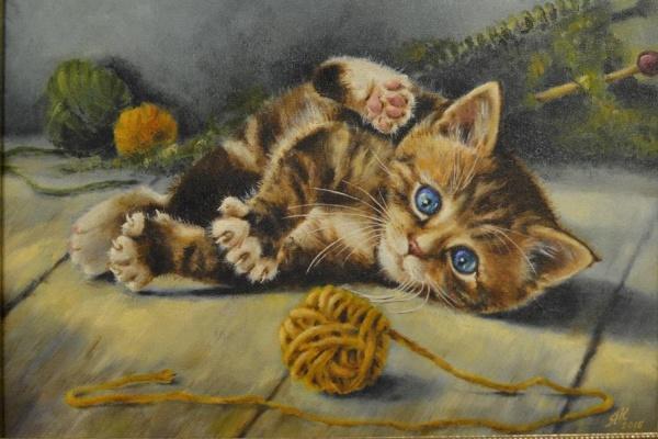 «Музее гигиены» откроется выставка картин с котиками
