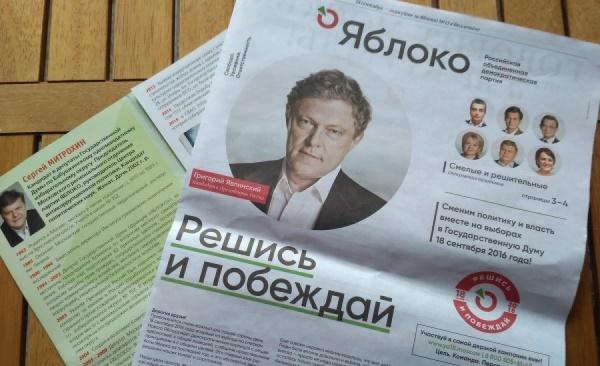 «Работу нельзя доверить сторонней фирме». Екатеринбургское «Яблоко» через соцсети ищет сотрудников на время агитации