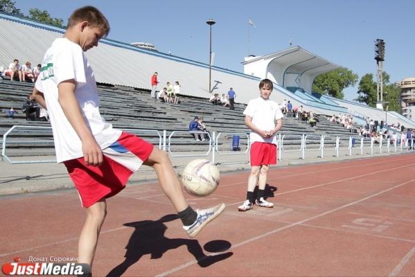Дети со всего Урала соберутся в Екатеринбурге для участия в мастер-классах по футболу