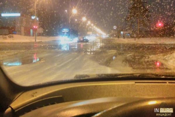 В Екатеринбурге затопило Сортировку