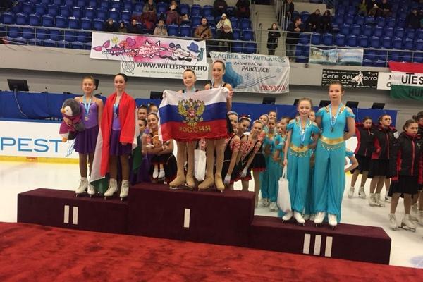 Екатеринбургские фигуристы взяли «золото» на международных соревнованиях в Будапеште