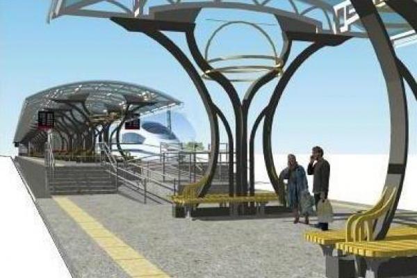 В Екатеринбурге на станции Первомайская построили отдельную платформу для пригородных поездов. ФОТО
