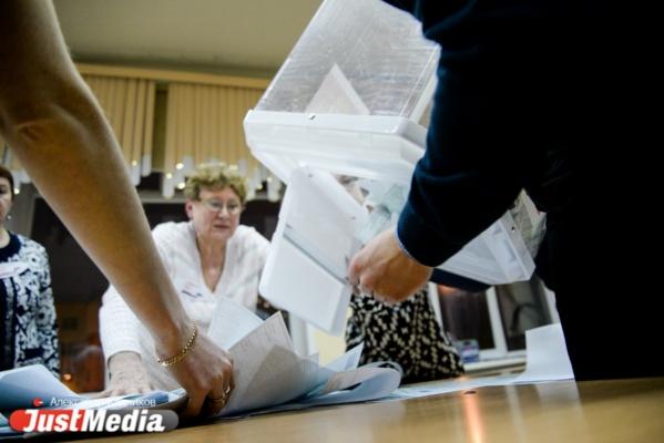 В Свердловской области появились первые результаты голосования
