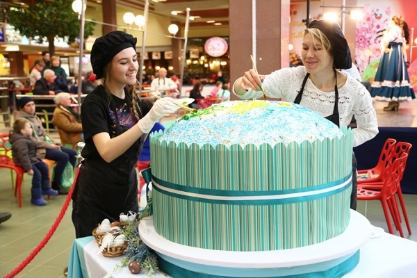 В Екатеринбурге испекут кулич весом более 100 килограммов