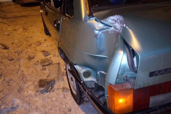 В Североуральске два ВАЗа не поделили дорогу. ФОТО