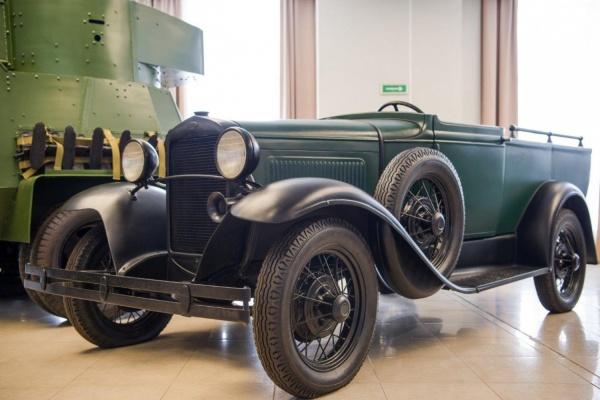 В музее военной техники УГМК появился первый советский pick-up