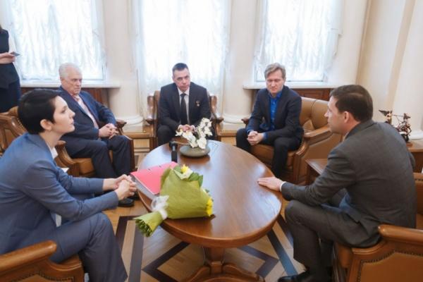 Сопредседатели свердловского штаба Путина отчитались Куйвашеву о работе до и после выборов