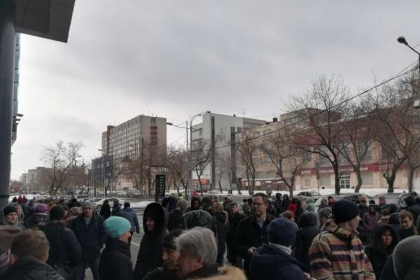 В Екатеринбурге эвакуировали арендаторов бизнес-центра