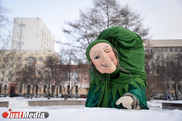 Наталья Гаранина, Театр кукол: «И что это за погода? То тепло, то холодно. Не знаешь, как одеваться». В Екатеринбурге -4 и снег. ФОТО, ВИДЕО
