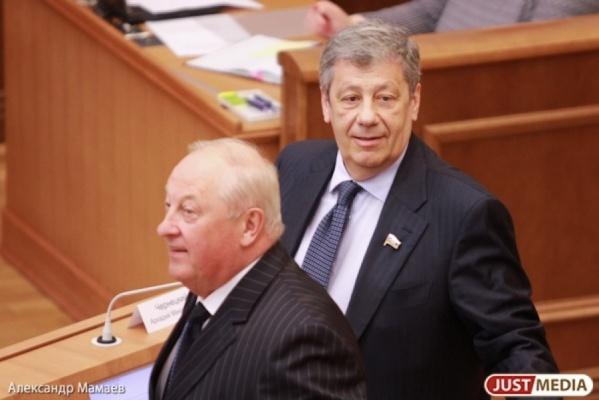 Россель уделал Чернецкого: экс-губернатор Свердловской области заработал больше коллеги
