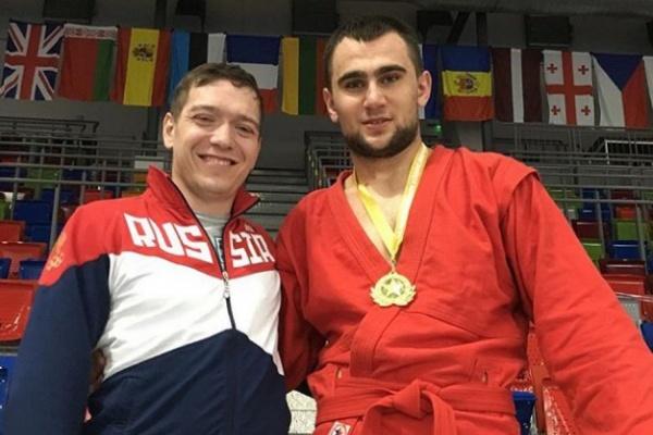 Глеб Познахирко из верхнепышминского УГМК стал победителем молодежного первенства Европы по самбо