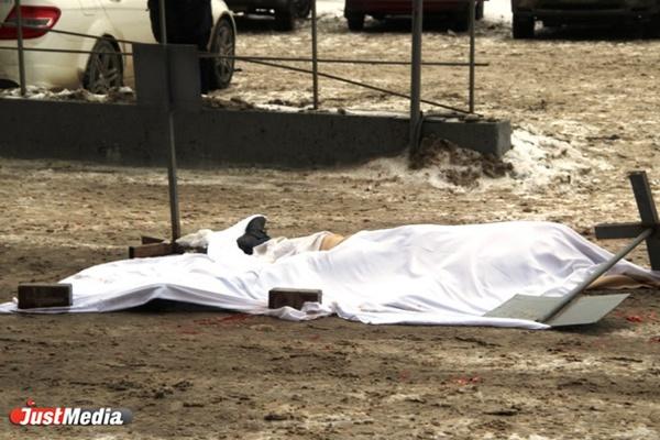 В центре Екатеринбурга в перестрелке был убит человек. Еще один ранен