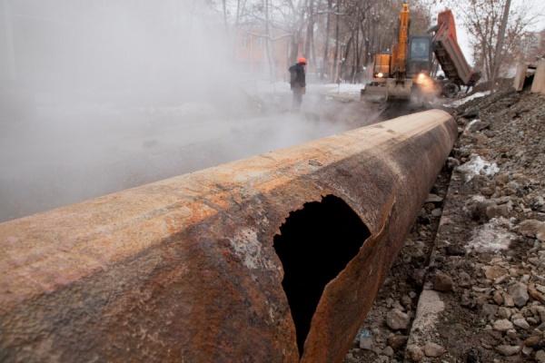 В Екатеринбурге более 20 домов остались без воды и тепла