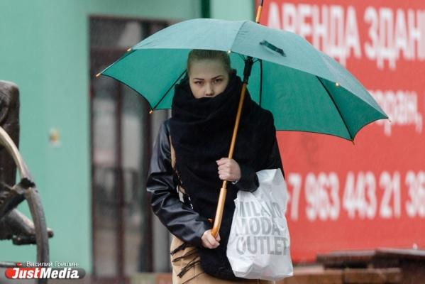 На Свердловскую область обрушатся сильные дожди и мокрый снег
