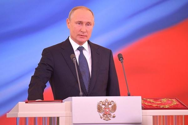 В Кремле прошла инаугурация Путина