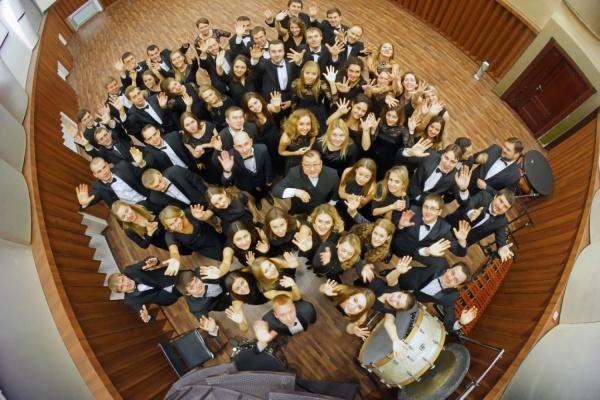 Молодежный оркестр Свердловской филармонии записывается диск для NAXOS