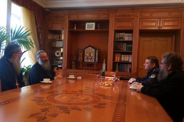 Митрополит Кирилл договорился о сотрудничестве с новым начальником свердловского ГУФСИН