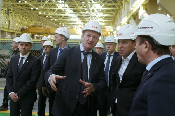 Куйвашев и Козицын запустили новый цех Уралэлектромеди стоимостью 4,3 млрд рублей