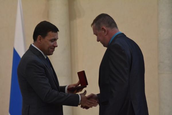 Работник СУМЗа стал «Заслуженным металлургом РФ»