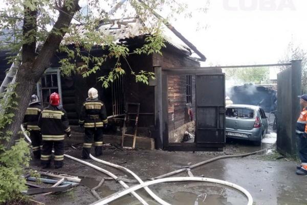 На Самолетной в пожаре в частном доме погибла его хозяйка