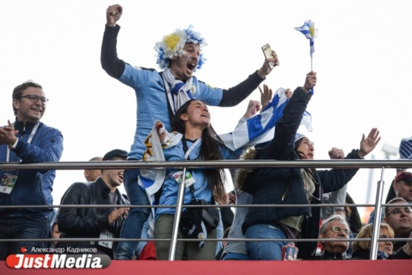 Уругвай одержал победу над Египтом в первом матче на Екатеринбург Арене. 0:1