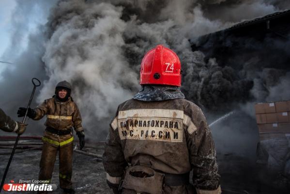 В Кашино сгорел большой частный дом