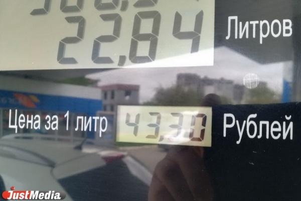 УФАС: «В Свердловской области средний уровень цен на бензин и дизельное топливо»