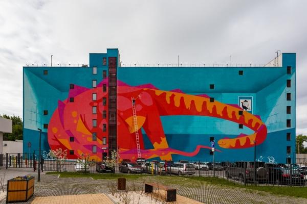 В Екатеринбурге появилась первая в мире мойка для динозавров. ФОТО