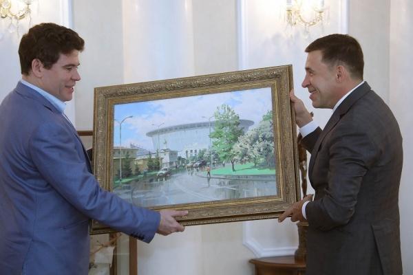 Евгений Куйвашев обсудил с Денисом Мацуевым футбол, заявку на ЭКСПО и развитие культурных проектов на Урале