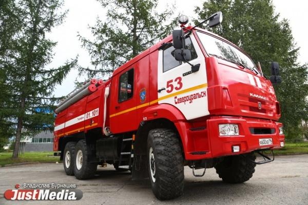 На трассе Пермь-Екатеринбург сгорели три грузовых машины