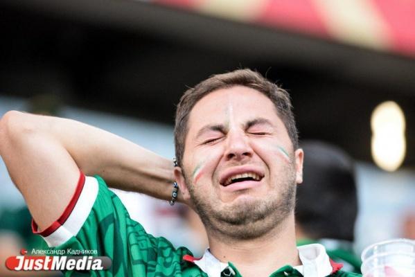 Все эмоции от поражения Мексики в матче со Швецией на лице одного болельщика. ФОТО