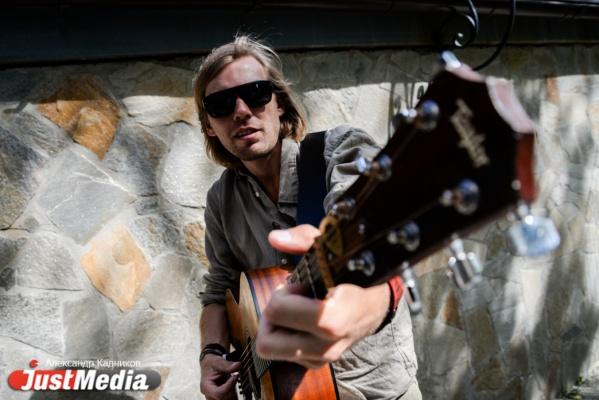 Миша Лузин, музыкант: «Наконец-то на Урал пришло нормальное лето». В Екатеринбурге +30 и вечером дождь. ФОТО, ВИДЕО